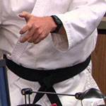 Dwight Schrute Black Karate Belt
