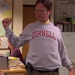 Dwight Schrute Cornell Sweatshirt