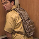 Dwight Schrute Hydration Backpack