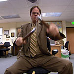 Dwight Schrute Nunchucks