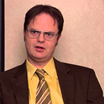 Dwight Schrute Brown Suit