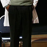 Richard Webber Black Dress Pants