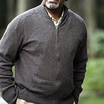Richard Webber Gray Zip Up Jacket