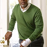 Richard Webber Green Sweater