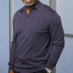 Richard Webber Long Sleeve Polo Shirt