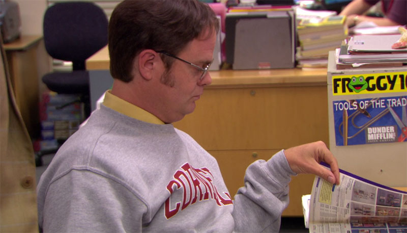 The Office Dwight Schrute Cornell Sweatshirt
