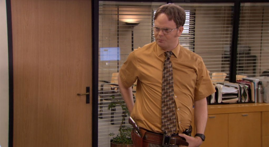 The Office Dwight Schrute 1875 Revolver