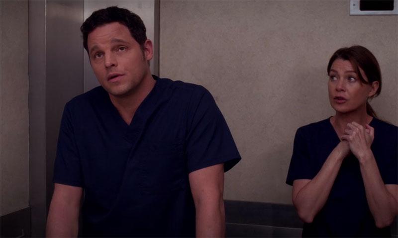 Grey's Anatomy Alex Karev Navy Scrubs