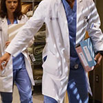 Jackson Avery Light Blue Scrubs