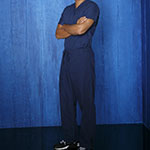 Jackson Avery Navy Scrubs