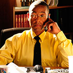 Gus Fring Blue Tie