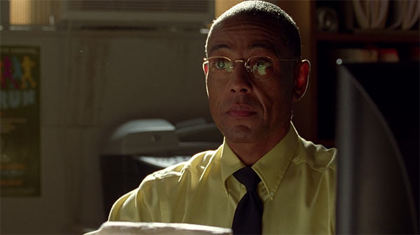 Breaking Bad Gus Fring Yellow Dress Shirt