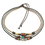 Ancient Tribe beaded necklace