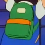 Ash Ketchum Green Backpack