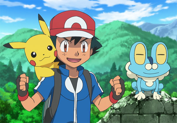 Pokemon Ash Ketchum with Pikachu