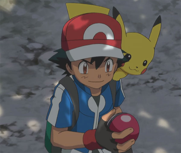 Ash Ketchum Pokeball