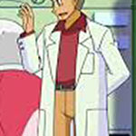 Professor Oak's burgundy shirt