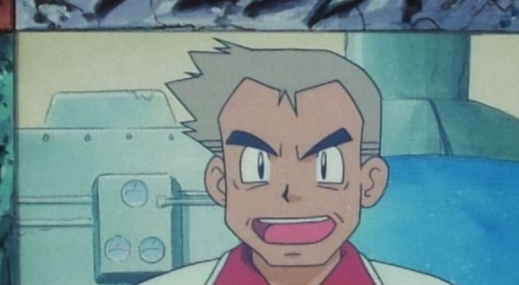 Professor Oak Pokemon Indigo