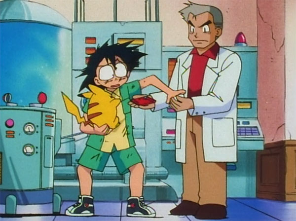 Pokemon Professor Oak Standing