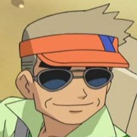 Professor Oak's visor hat