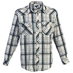 Studio10 Plaid Western Shirt