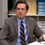 Andy Bernard gray suit jacket