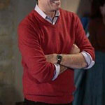 Andy Bernard red sweater