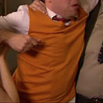 Andy Bernard sweater vest mustard
