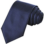 Coxeer navy checked tie