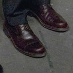 Jim Halpert brown dress shoes