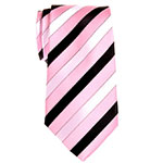 Retreez neck tie pink black