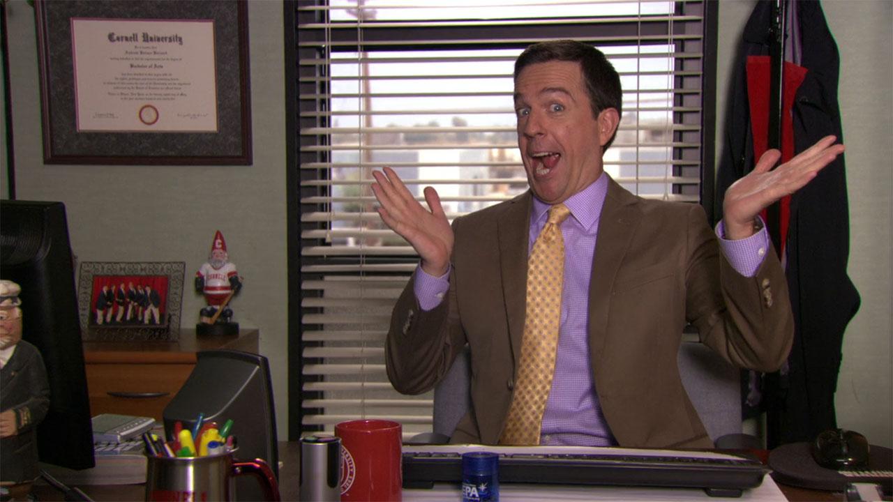 The Office Andy Bernard