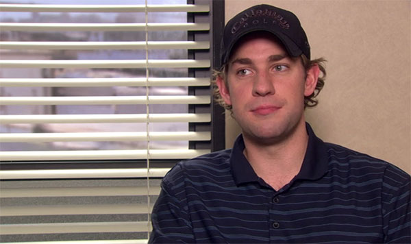 The Office Jim Halpert Black hat