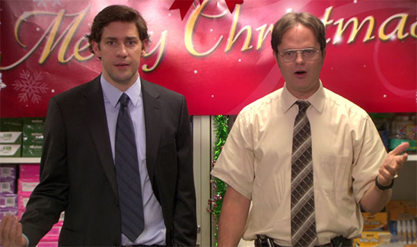 The Office Jim Halpert and Dwight Schrute