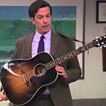 Andy Bernard acoustic guitar