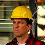 Andy Bernard construction hat