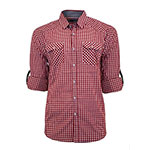 Bruno red checkered shirt