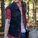 Dwights black denim vest