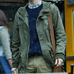 Norman Bates green military jacket