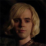 Norman Bates Norma outfit blonde wig