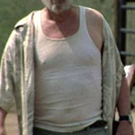 Dale Horvath white tank top