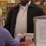 Darryl Philbin black casual jacket