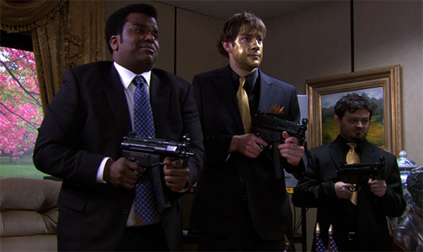 Darryl Philbin The Office Threat Level Midnight