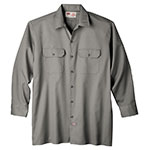 Dickies long sleeve work shirt silver gray
