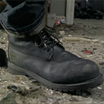 Dwight black work boots