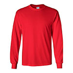 Gildan ls shirt red