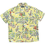 Hawaiian yellow shirt