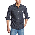 Levis denim shirt dark rinse