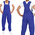 Medgear unisex overalls royal