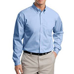 Port Authority shirt light blue